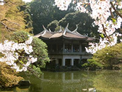 旧御凉亭(台湾閣)