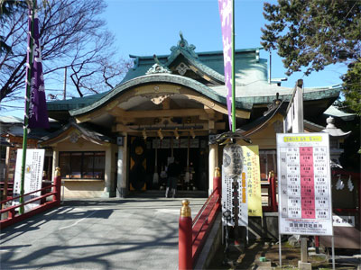 須賀神社・六歌仙絵