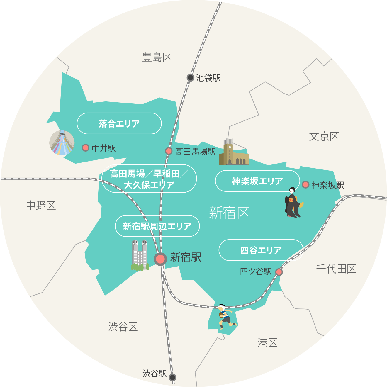 エリア紹介 | 一般社団法人新宿観光振興協会