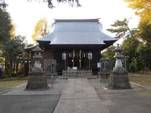 中井御霊神社の本殿・幣殿・拝殿